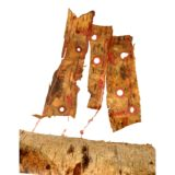 Silver Birch Bark Sculpture