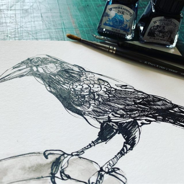 Pen and Ink workshop